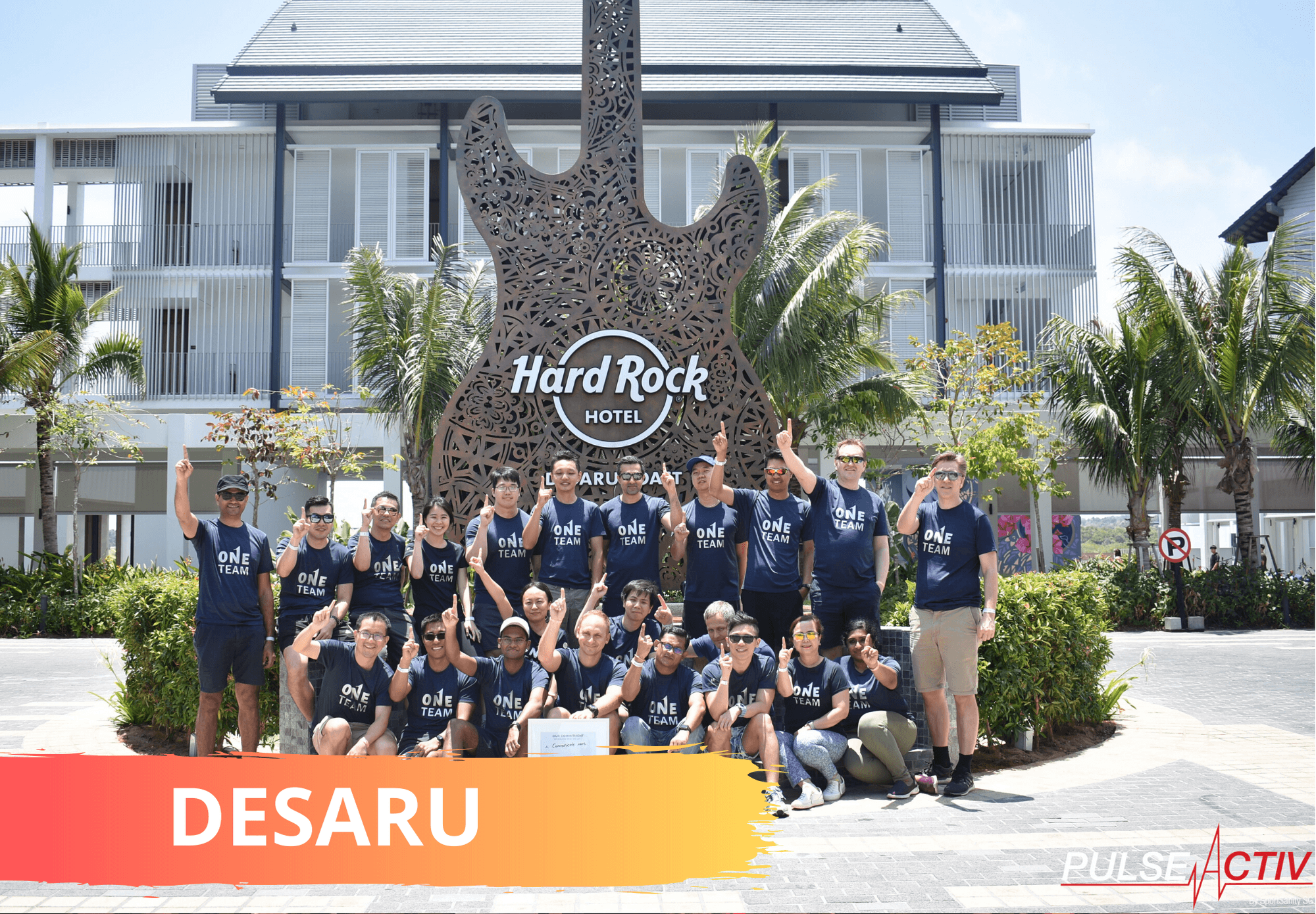 Desaru Overseas Team Building